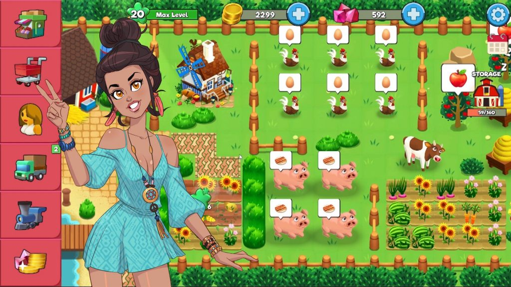 booty farm mobile porn game