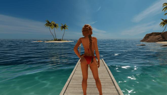 3dx chat bikini girl