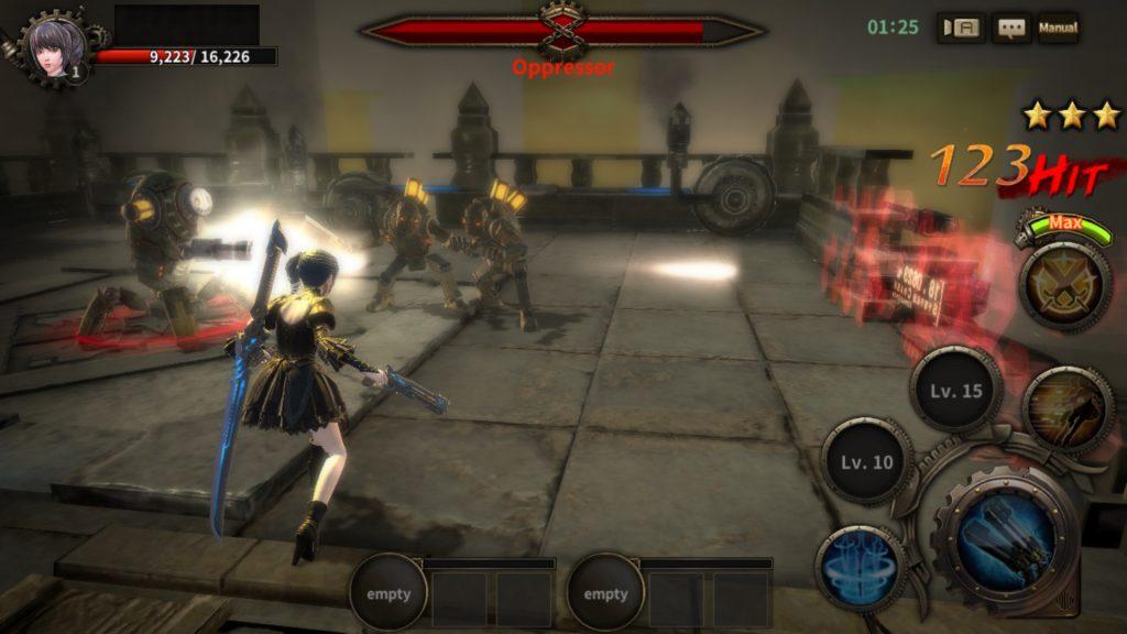 foxynite battle scene