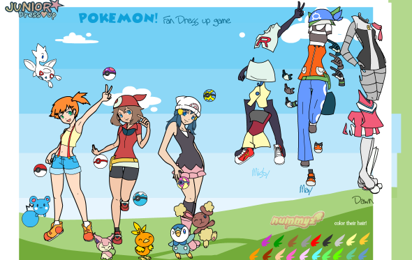 pokemon porn game jr dress up