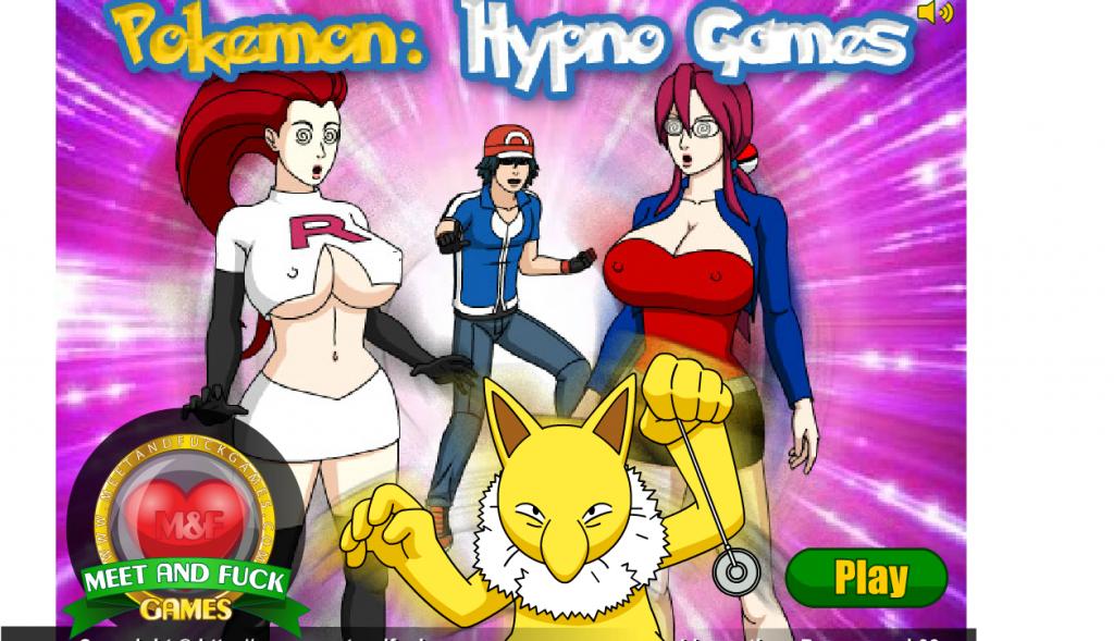 pokemon porn game