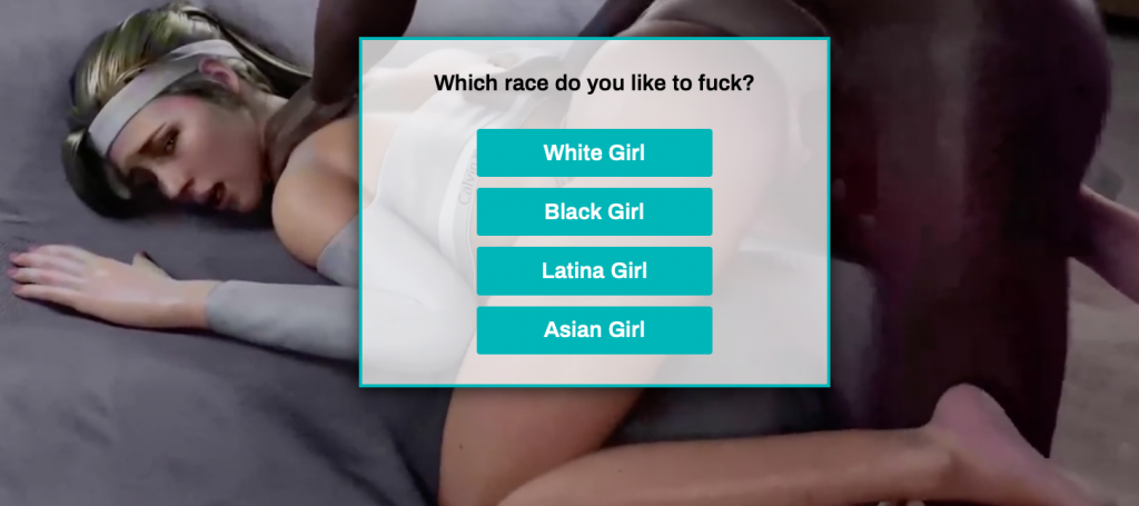interracial porn games