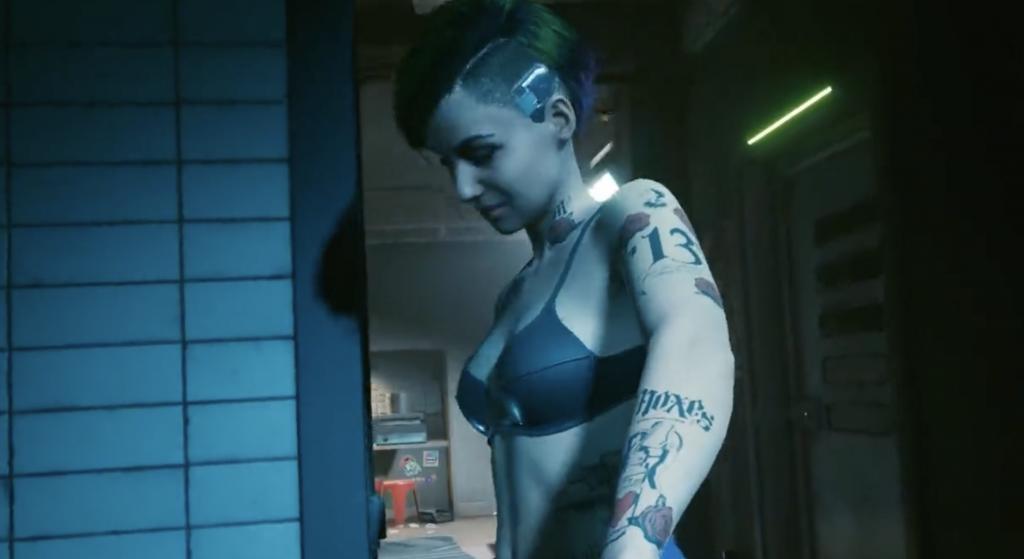 cyberpunk 2077 sex scenes judy