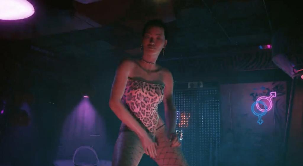 cyberpunk 2077 sex scenes stripper