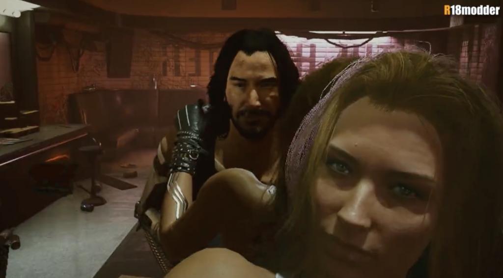 keanu reeves cyberpunk 2077 sex scenes