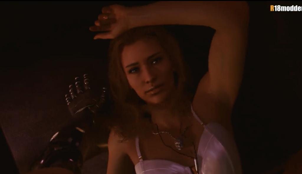 cyberpunk 2077 sex scenes hooker face
