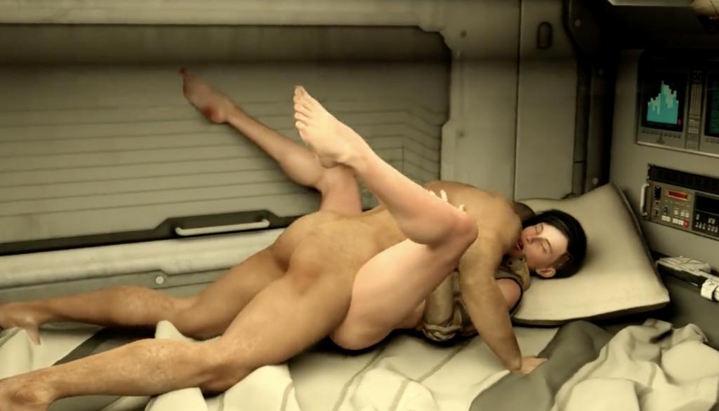 cyberpunk 2077 sex scenes in a trailer