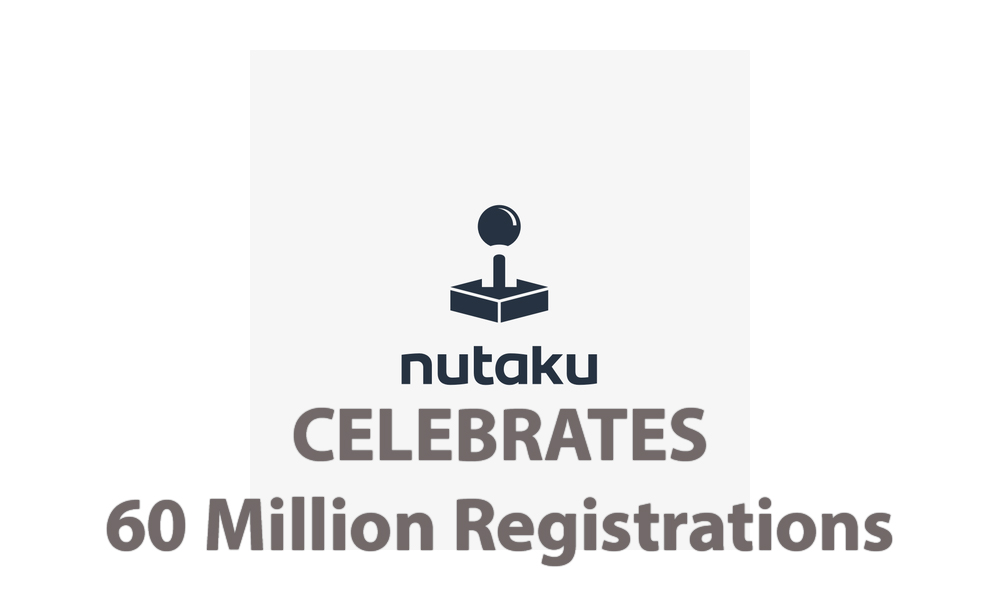 nutaku 60 million registrations celebration